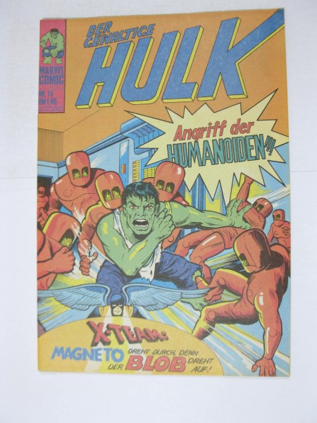 Hulk Nr. 14 Marvel Comic Williams im Z (1). 124291