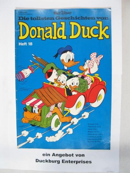 tollsten Geschichten Donald Duck 18 Ehapa Verlag im Zustand (1-2) 48359
