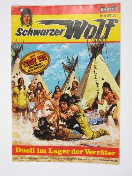Schwarzer Wolf Nr.16 Bastei im Zustand (1-2). 63485