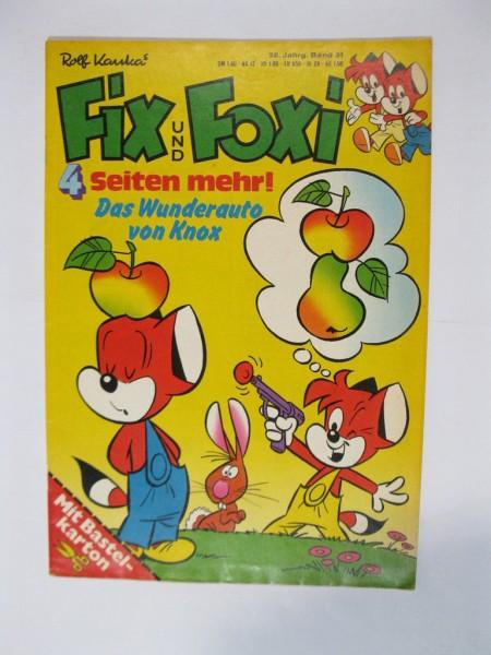 Fix und Foxi 26. Jhrg. / 31 mit BEILAGE Kauka / Pabel im Z (1-2). 79089