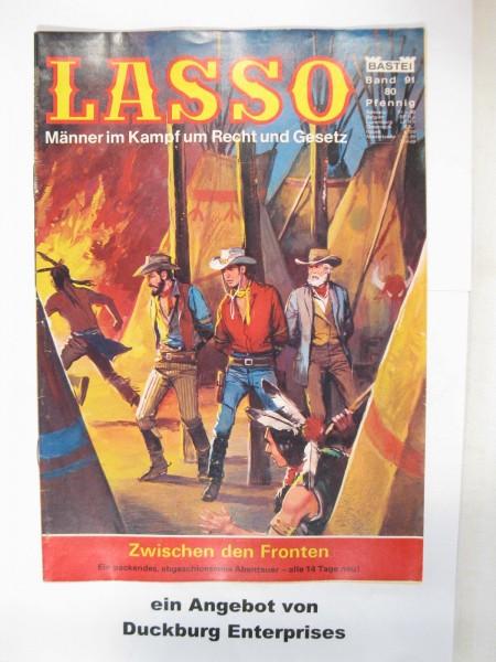Lasso Nr. 91 Bastei Verlag im Zustand (1-2) 48881