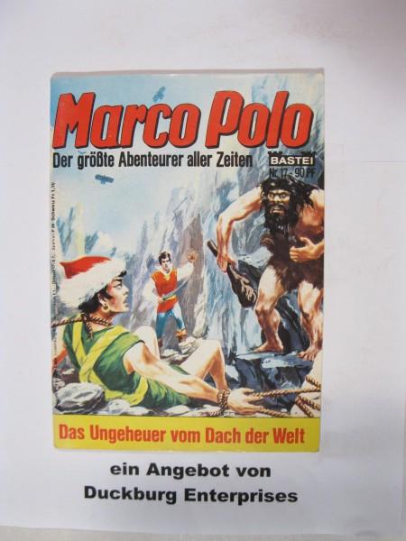 Marco Polo Nr. 17 Bastei Verlag im Zustand (1-2) 49004