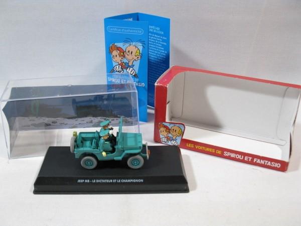 Spirou + Fantasio Auto Jeep MB aus Champignos für den Diktator 61861