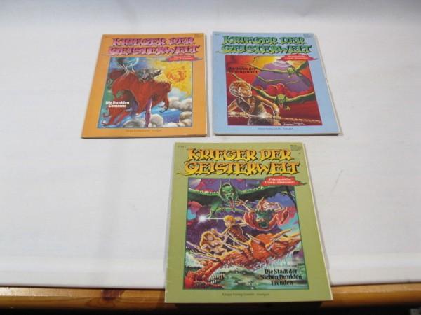 3x Krieger der Geisterwelt Nr. 1-3 kpl. im Zustand (1-2/2) Ehapa Comic 98516