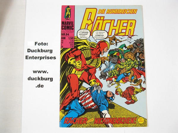 Rächer Nr. 94 Marvel Comic Williams (Z 1) 38866