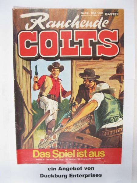 Rauchende Colts Nr. 32 Bastei Verlag im Zustand (1-2) 49008