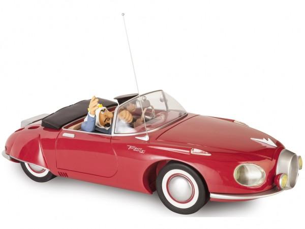 Garage de Franquin roter Turbot mit Ölscheich figures et vous limitiert