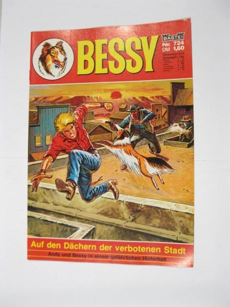 Bessy Comic-Heft Nr.724 Bastei Verlag im Zustand (0-1). 107547