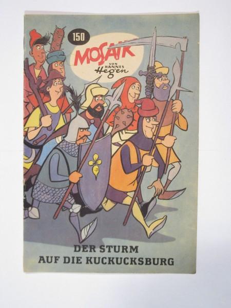 Mosaik DDR Comic Nr. 150 Vlg. Junge Welt im Zustand (1-2). 64945