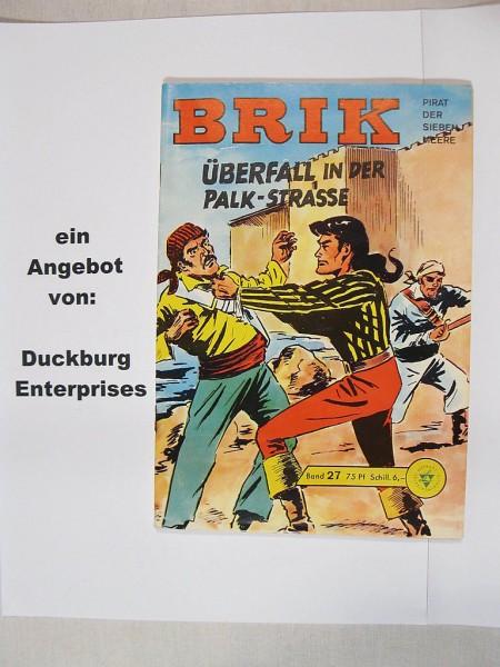 BRIK Nr. 27 altes Comic vom Lehning Verlag 39845