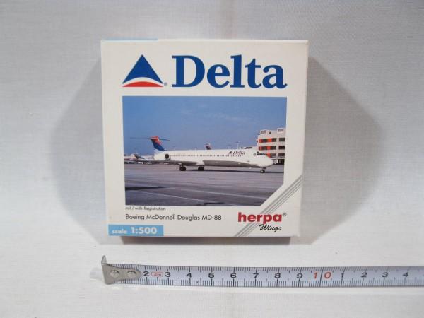 Herpa wings 512473 Boeing McDonnell Douglas MD-88 Delta OVP 1:500 h1259