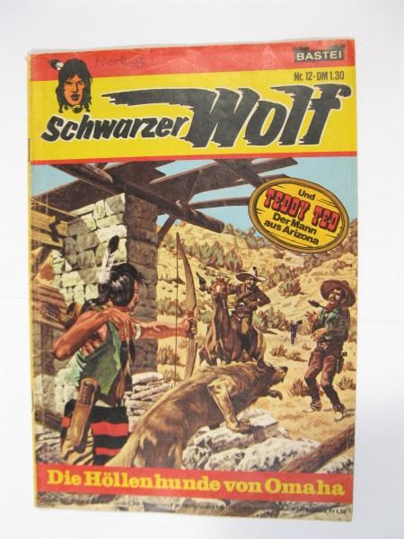 Schwarzer Wolf Nr. 12 Bastei im Zustand (2 NZ). 94117