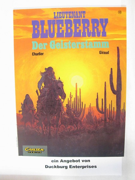 BLUEBERRY Carlsen Vlg. Nr. 23 Western Comic 27959