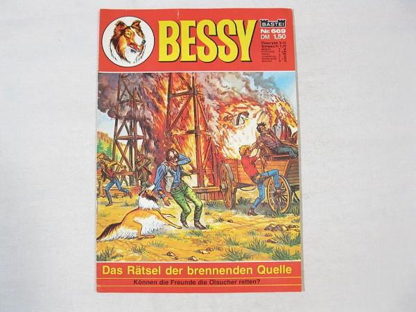 Bessy Comic-Heft Nr.669 (Bastei Verlag) Z(1-2) 38020