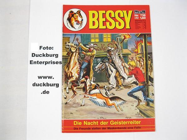 Bessy Comic-Heft Nr.738 (Bastei Verlag) (Z 1) 39284