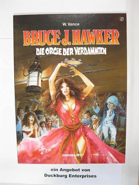 Bruce J. Hawker Nr. 2 Carlsen Comics Erstauflage 45318
