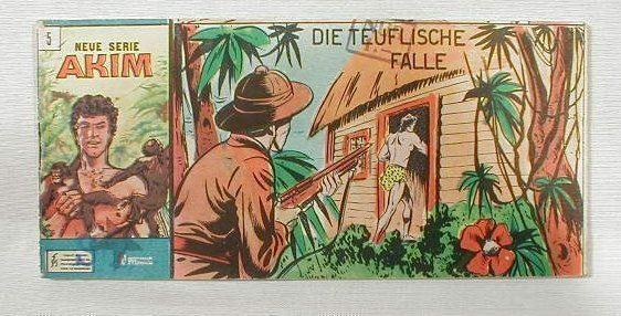 Akim Neue Serie Nr. 5 Bozzesi Verlag Piccolo 13597
