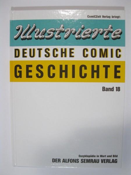 Ill. Deutsche Comicgeschichte Nr. 18 des Semrau Verlages 50986
