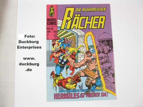 Rächer Nr. 98 Marvel Comic Williams (Z 1) 38876