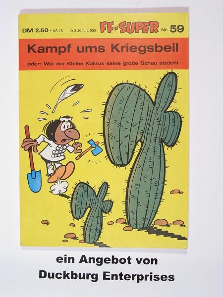 Kauka Super Serie Taschenbuch Nr. 59 in Z (1) Kleiner Kaktus 41718