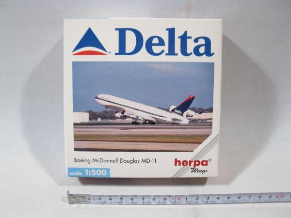 Herpa wings 503327 Boeing McDonnell Douglas MD-11 Delta OVP 1:500 h1243
