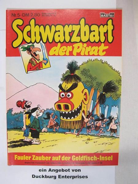 Schwarzbart der Pirat Bastei Verlag Nr. 5 im Zustand (1) 45200