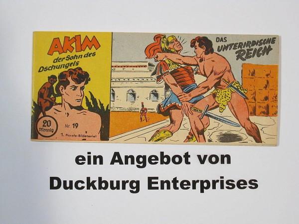 AKIM Sohn des Dschungels Nr. 19 Lehning Verlag im Zustand (1) 43559