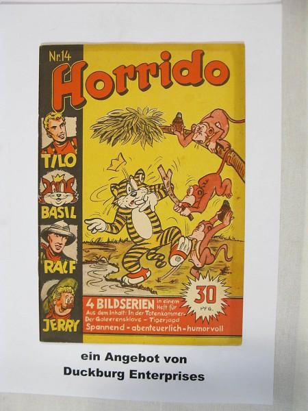 Horrido Comic Heft Nr. 14 Danehls Verlag im Zustand (1-2) 44066