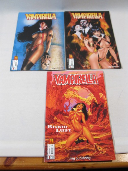 Vampirella Nr. 1-3 kpl. Serie MG Publishing Comic im Zustand (0-1/1) 81223+