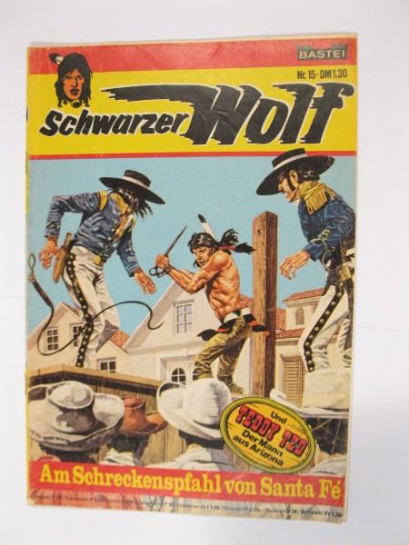 Schwarzer Wolf Nr. 15 Bastei im Zustand (2-3). 94119