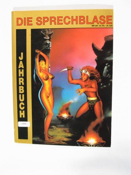 Sprechblase Jahrbuch 1988 mit den Nr. 74,73,84 Hethke Verlag 71745