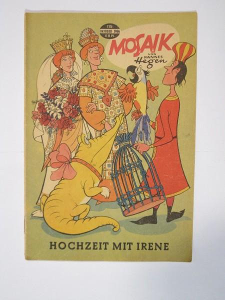 Mosaik DDR Comic Nr. 119 Vlg. Junge Welt im Zustand (1-2). 64923