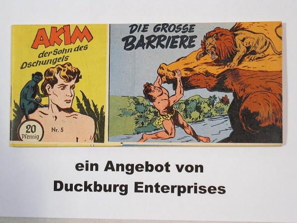 AKIM Sohn des Dschungels Nr. 5 Lehning Verlag im Zustand (0-1) 44497