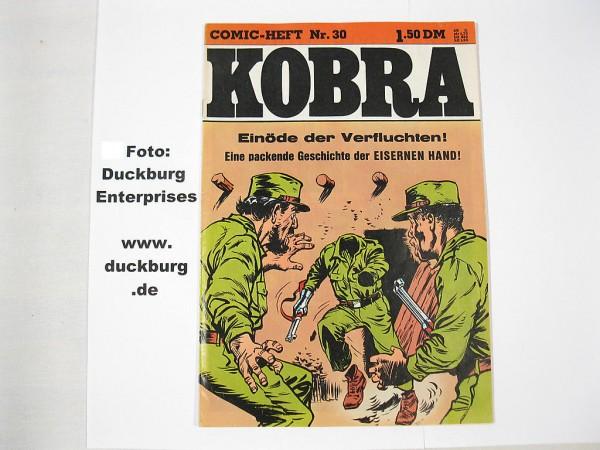 Kobra Comic 1976/30 Gevacur Verlag im Z (1) 39242