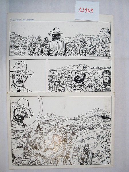 Silberpfeil Originalseite 10 aus Heft 366 Frank Sels (32969)