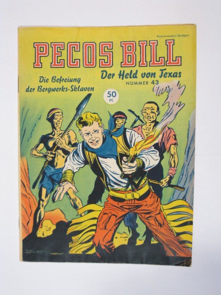 Pecos Bill Nr. 43 Mondial Verlag im Zustand (1/1-2) 63949