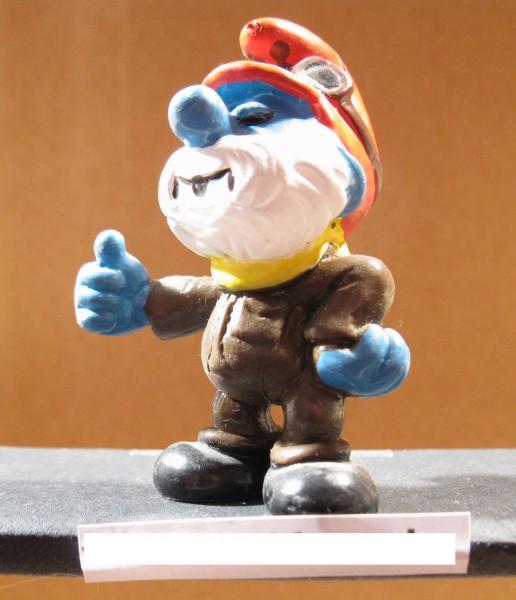 Schleich Figur Schlümpfe Baseballwerfer Schlumpf  #99#