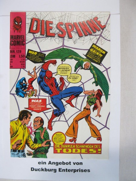 Spinne Nr. 128 Marvel Comics Williams im Zustand (1) 44761