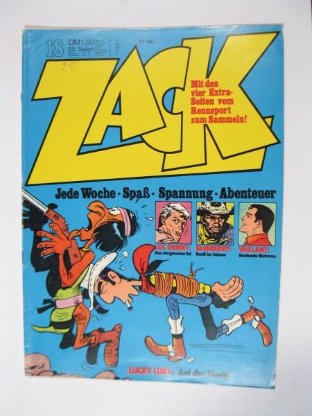 ZACK Comic Nr. 73/18 Koralle Vlg. im Zustand (1-2). 78545