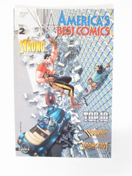 Americas Best Comic Nr. 2 Tilsner / Speed Verlag 99001
