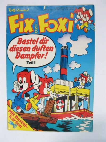 Fix und Foxi 26. Jhrg. 1978/28 + Beilage Kauka Pabel im Z (2). 79573