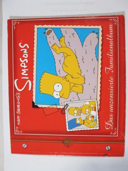 Simpsons das unzensierte Familienalbum Dino Verlag im Zustand (1-2) 81351
