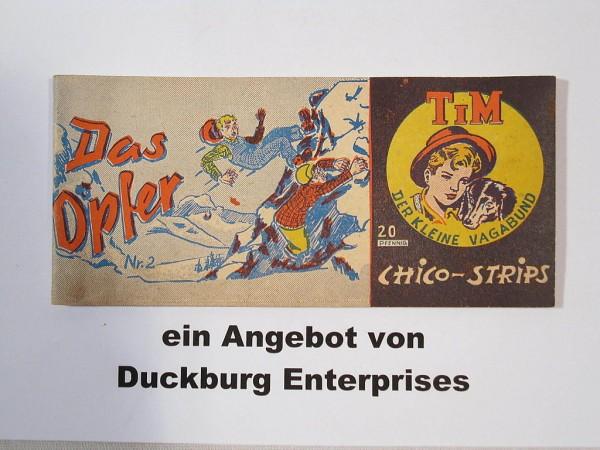 TIM der Vagabund Nr. 2 Piccolo Lohmann Verlag im Z (2) MIT FIGUR 42704