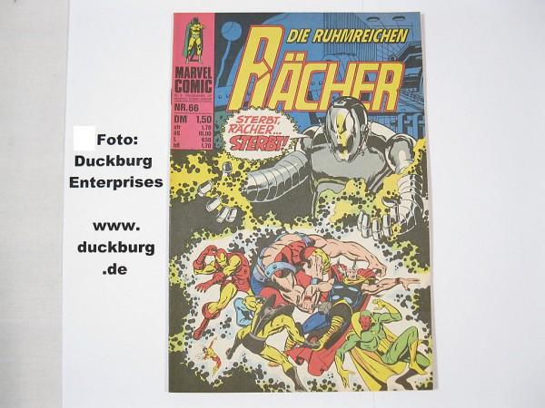 Rächer Nr. 66 Marvel Comic Williams (Z 0-1) 38685