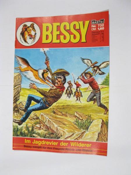 Bessy Comic-Heft Nr.732 Bastei Verlag im Zustand (0-1/1). 107563