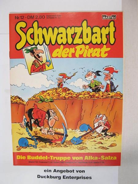 Schwarzbart der Pirat Bastei Verlag Nr. 12 im Zustand (1) 45207
