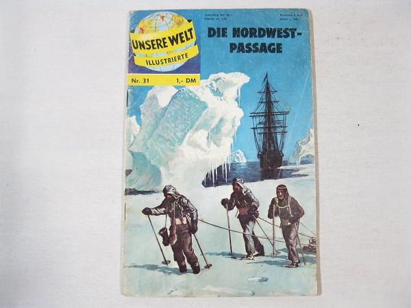 Unsere Welt Illustrierte 31 (BSV Verlag) selten 33424