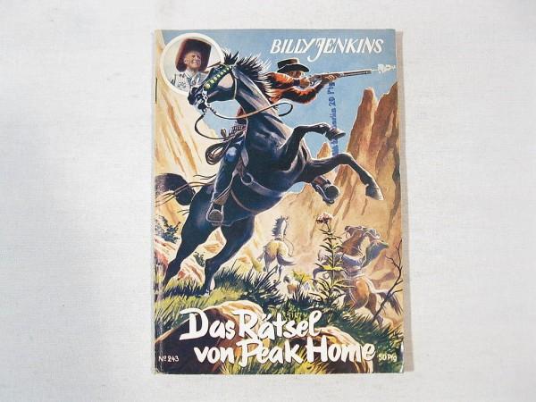 Billy JENKINS Heft Nr. 243 Uta-Verlag 37602