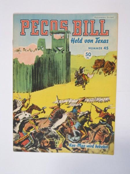 Pecos Bill Nr. 45 Mondial Verlag im tollen Zustand (0-1/1) 63947