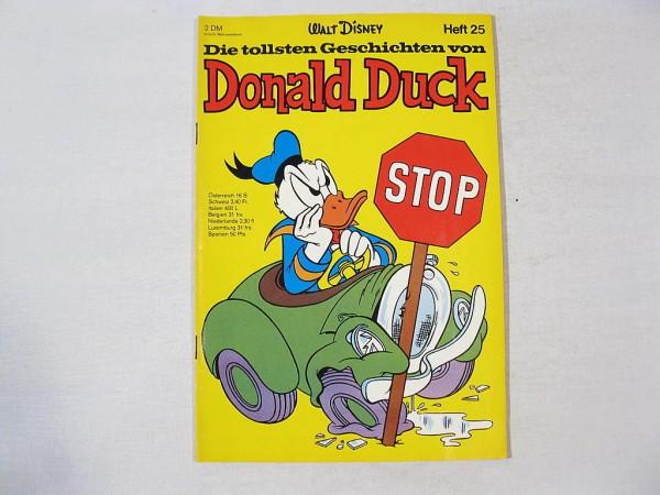 Tollsten Geschichten Donald Duck 25 Ehapa (Z 1-2)35516
